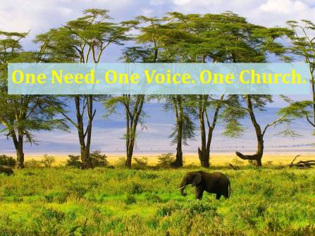 One Need. One Voice. One Church